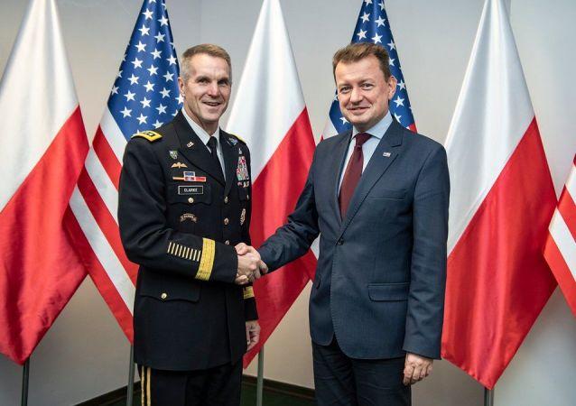 Dowódca operacji specjalnych USA w Warszawie
