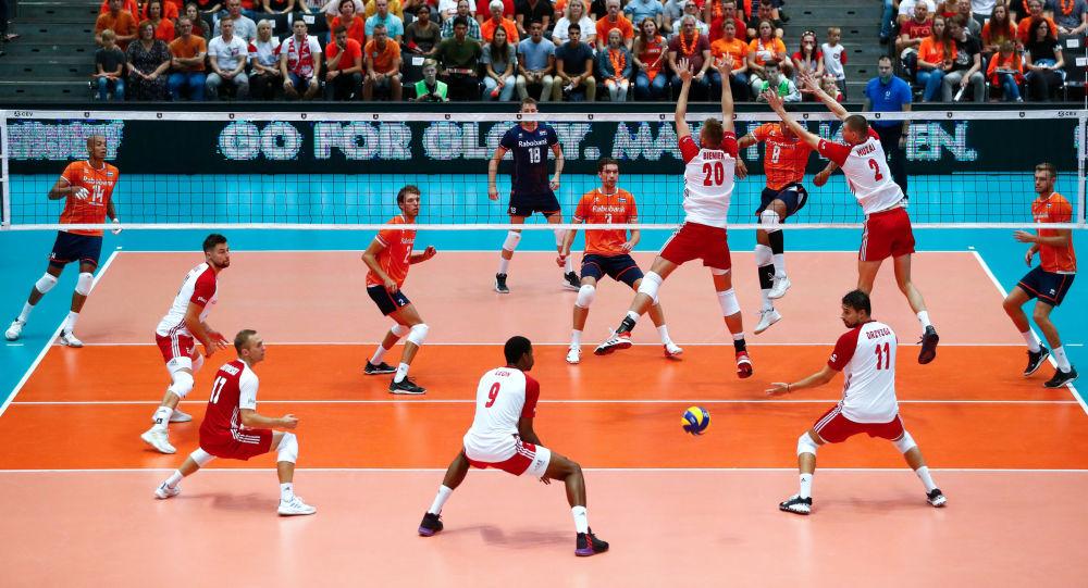Mistrzostwa Europy 2019 w siatkówce, mecz Polska-Holandia