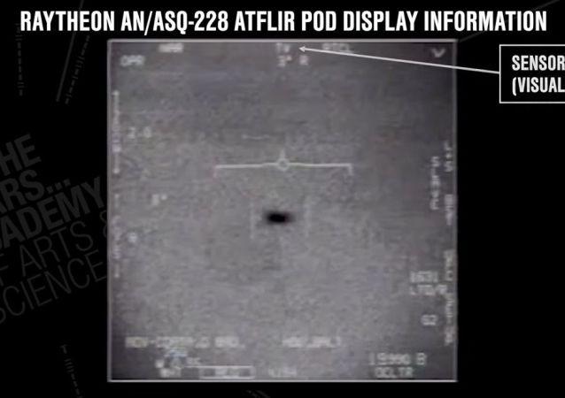 Wideo FLIR1, na którym zarejestrowano spotkanie amerykańskich samolotów z UFO