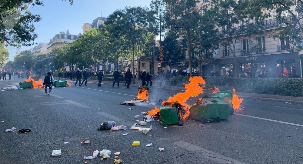 Starcia na ulicach Paryża