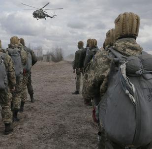 Ukraińscy wojskowi