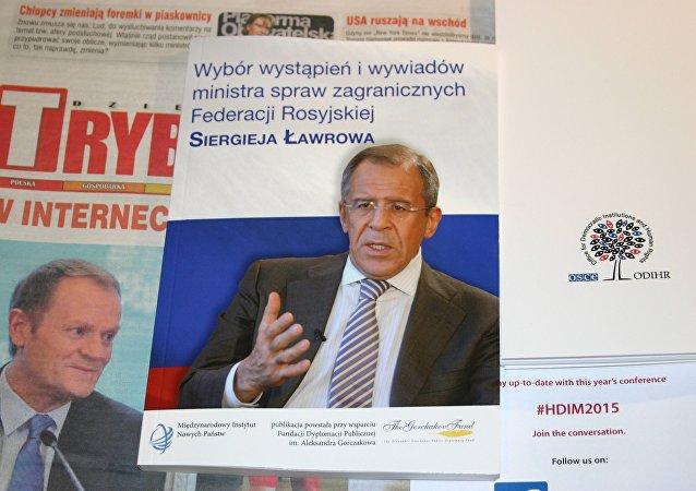 W Warszawie odbyła się prezentacja zbioru wypowiedzi Ławrowa w języku polskim