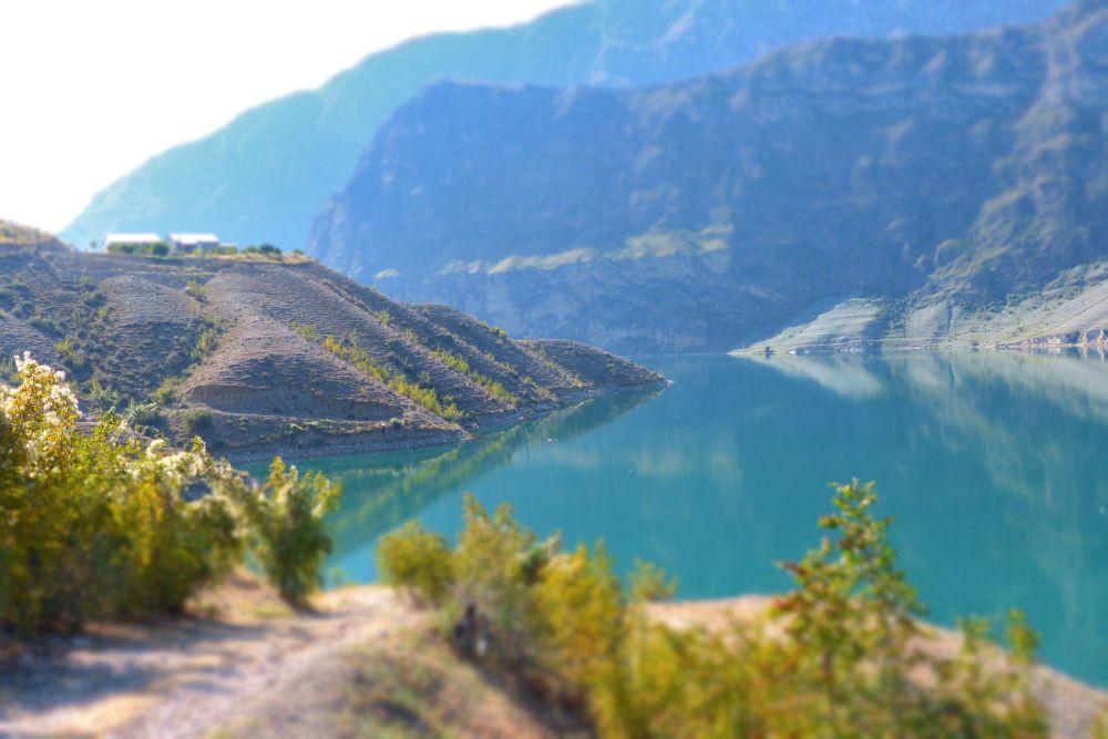Irganajski zbiornik wody w Dagestanie