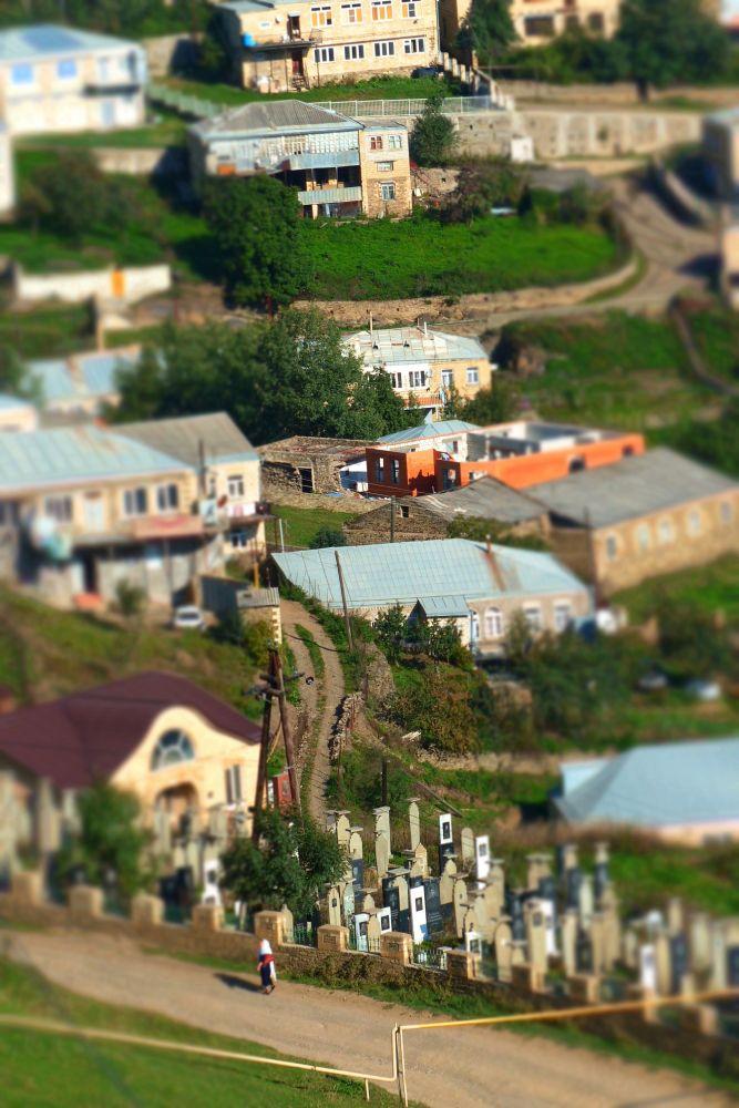 Wieś Kubaczy w Dagiestanie