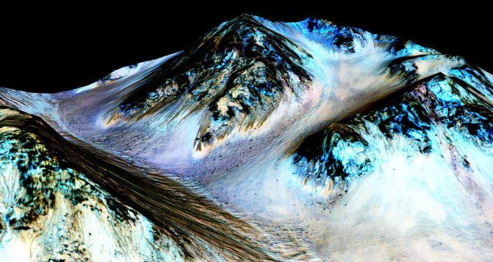 Obraz z powierzchni Marsa