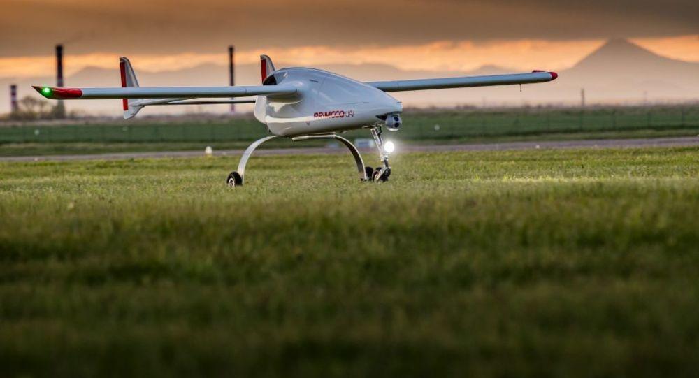 Bezzałogowy statek powietrzny czeskiej firmy Primoco UAV