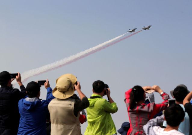 Pokazy lotnicze Airshow China 2016
