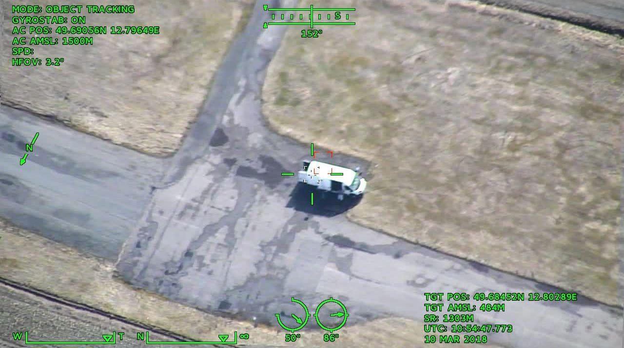 Zdjęcie z kamery bezzałogowca One 150. Primoco UAV