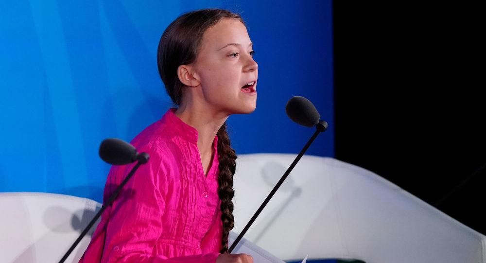 Szwedzka aktywistka Greta Thunberg