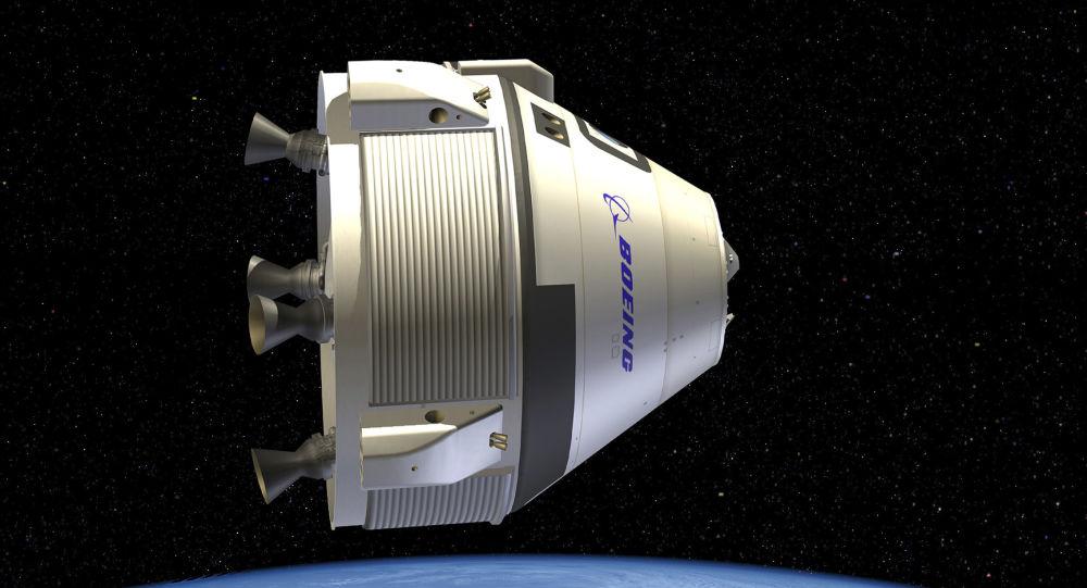Statek kosmiczny Boeing kosmos