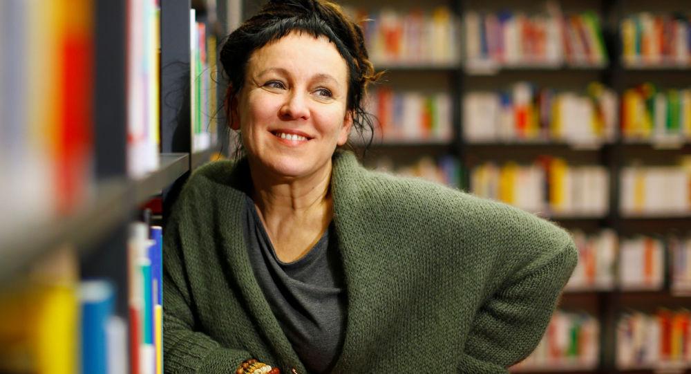 Polska pisarka Olga Tokarczuk