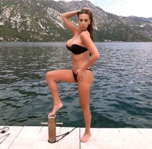Była modelka Playboya z Chorwacji Ava Karabatić