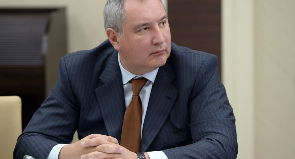 Wicepremier FR Dmitrij Rogozin