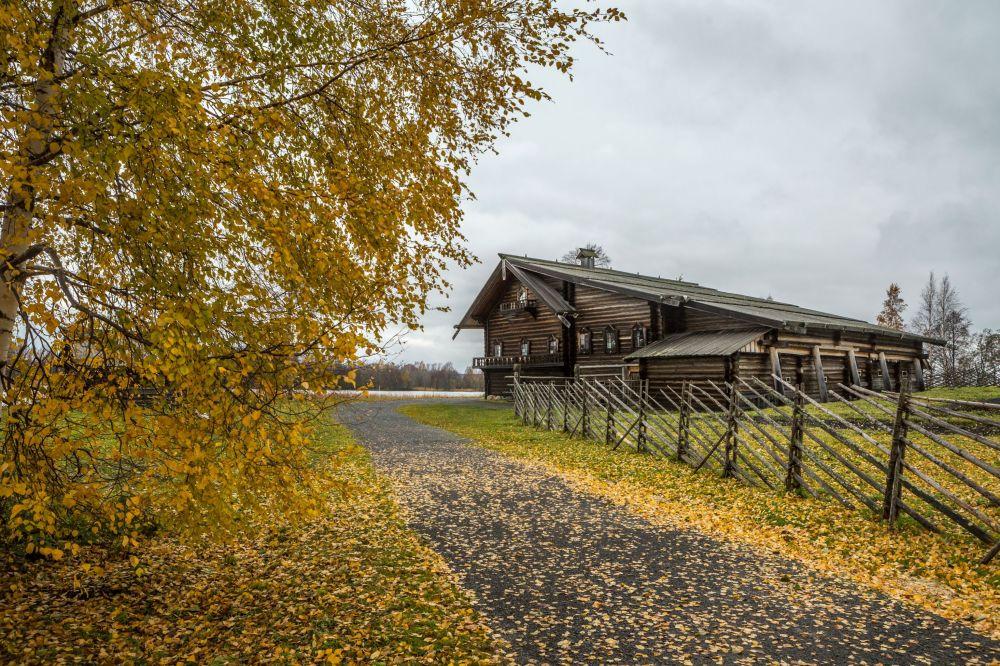 Dom Elizarowa ze wsi Seredka w rezerwacie przyrody Kiży w Karelii