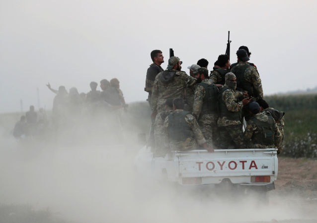 Syryjscy powstańcy