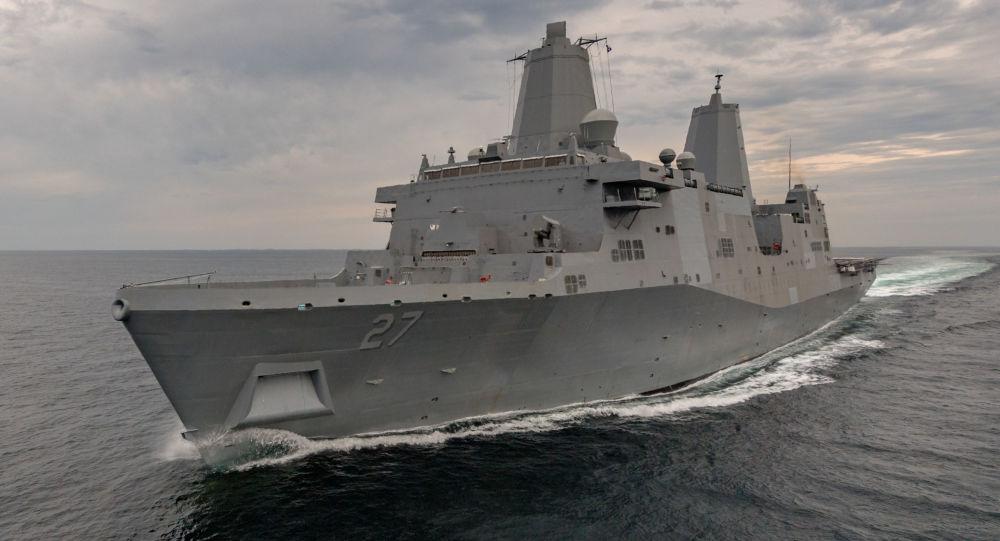 Okręt desantowy USS Portland (LPD-27) Marynarki Wojennej USA