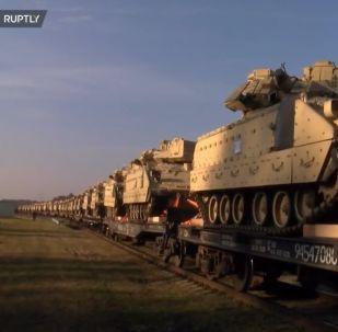 Amerykańska technika wojenna dotarła do Litwy
