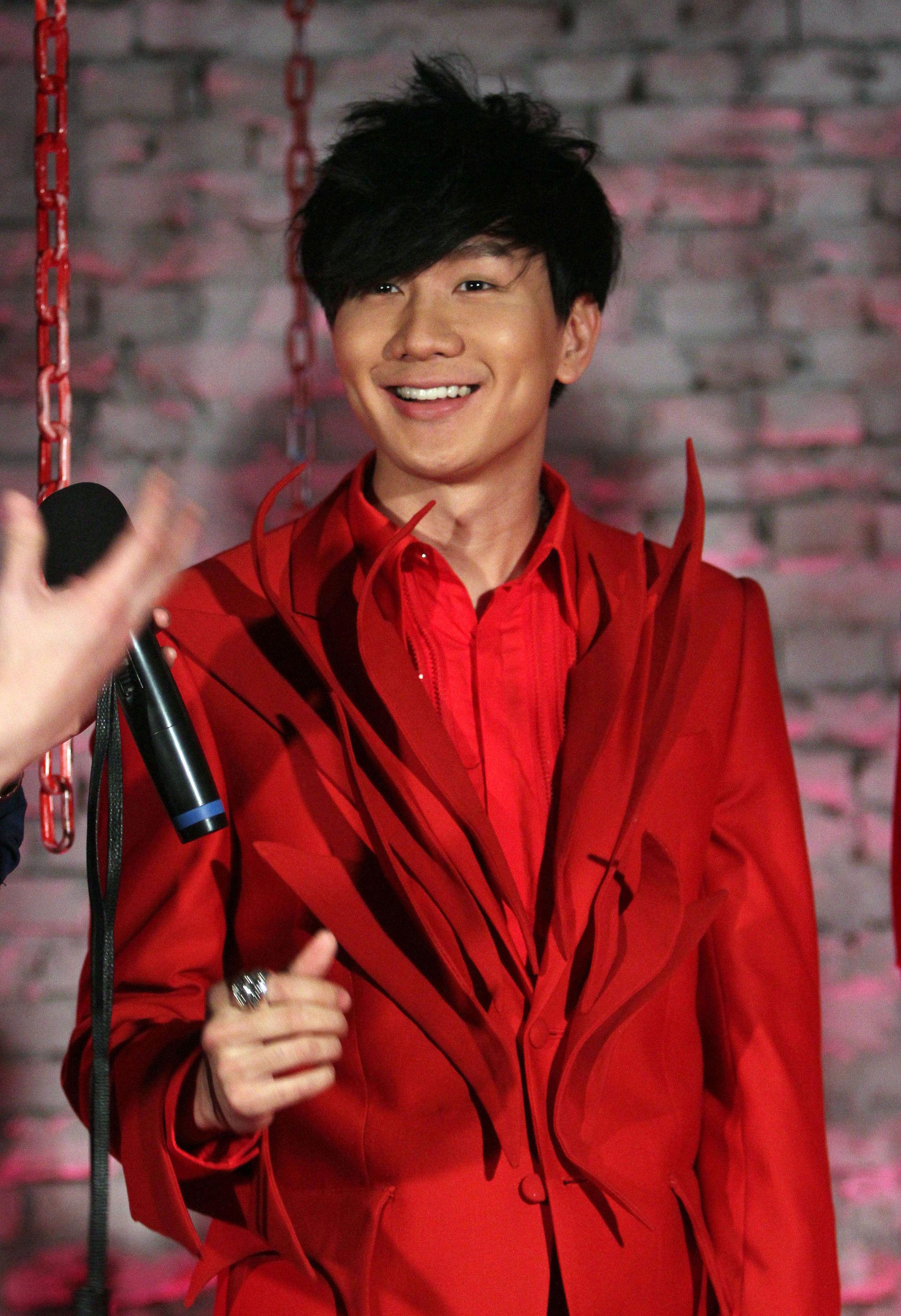Chińsko-singapurski pop wokalista Lin Junjie