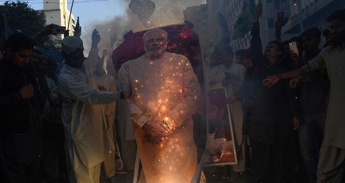 Antyindyjskie protesty w Kaszmirze