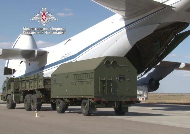 Dostawa komponentów systemu obrony powietrznej S-400 do Turcji