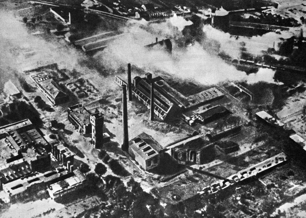 Zniszczona Warszawa, 1945 rok