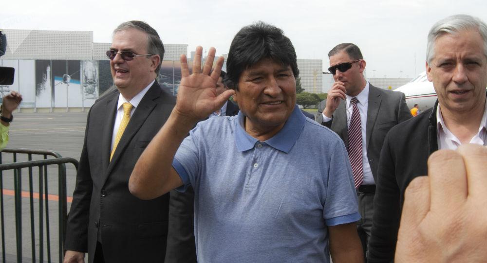 Evo Morales przybył do Meksyku