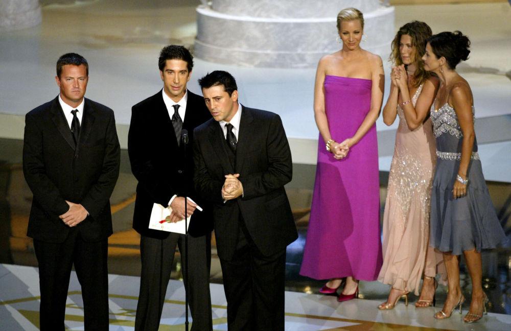 """Aktorzy serialu """"Przyjaciele"""", 2002 rok"""