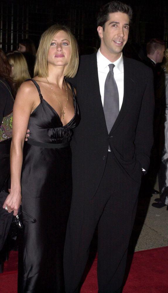 Jennifer Aniston i David Schwimmer, 2001 rok