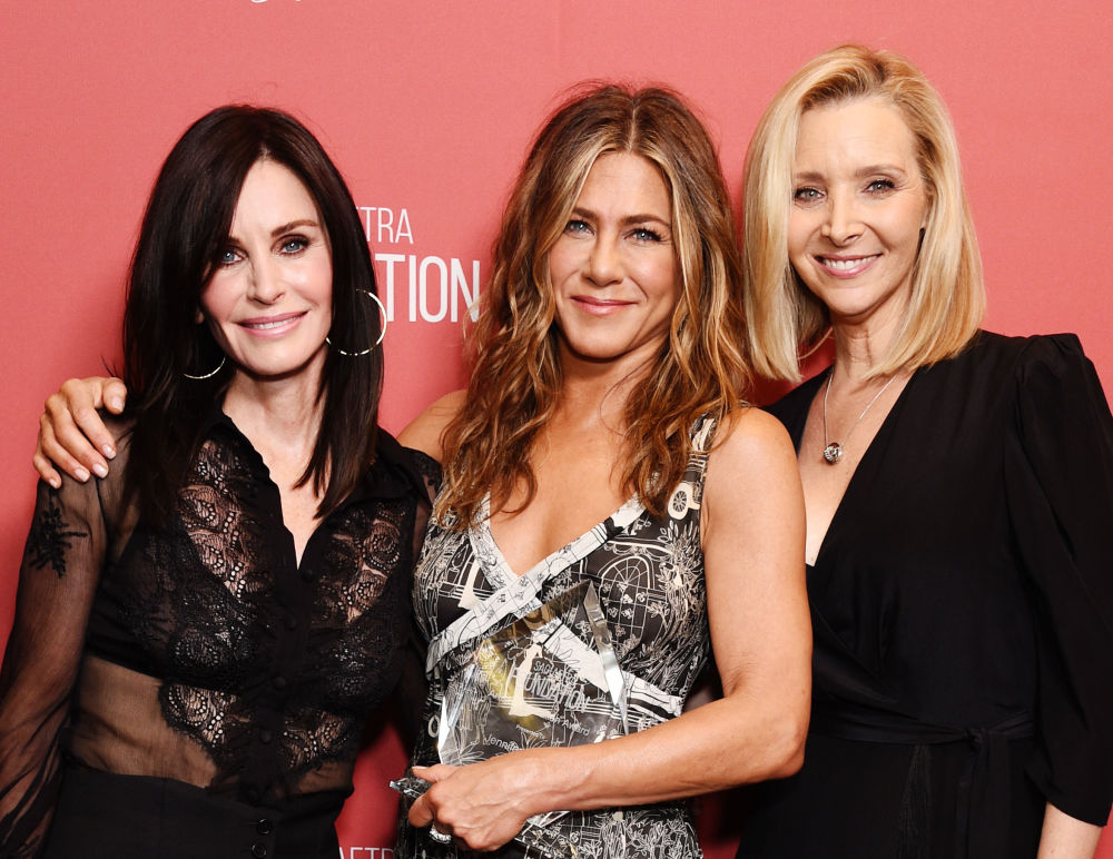 Courteney Cox, Jennifer Aniston i Lisa Kudrow, 2019 rok
