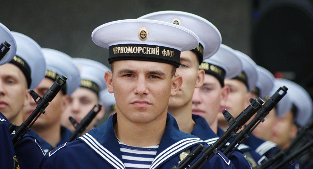 Marynarze Floty Czarnomorskiej Rosji