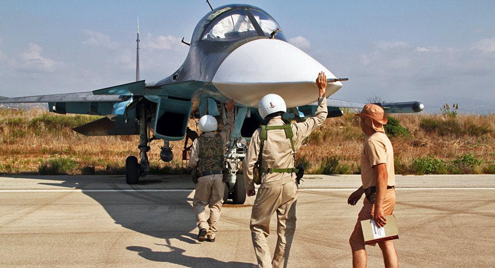 Baza lotnicza Hmelmin  w Syrii, skąd startują rosyjskie samoloty
