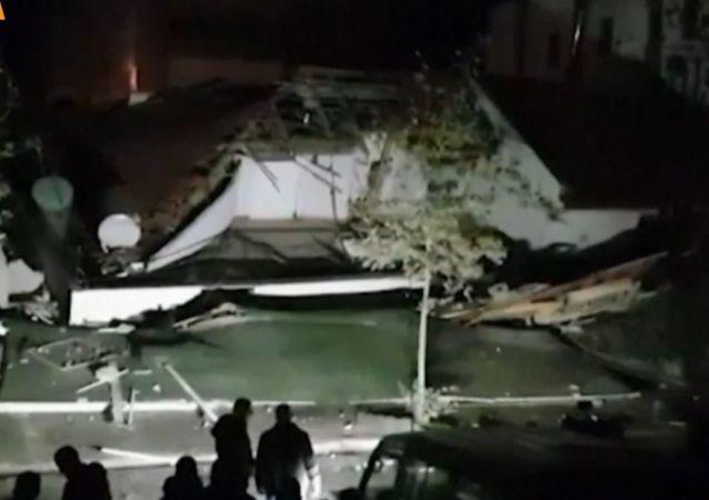 Trzęsienie ziemi w Albanii
