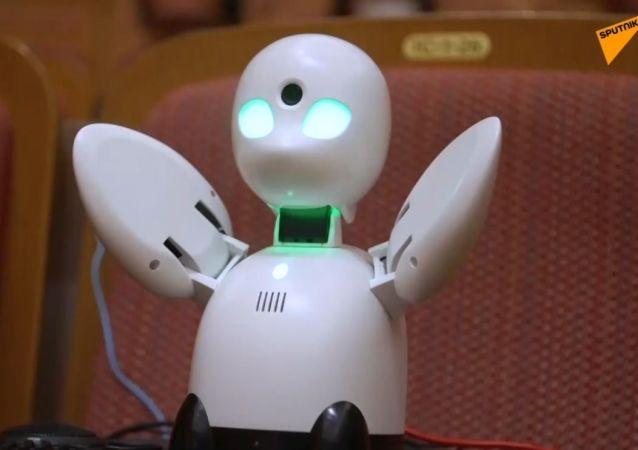 Robot, który pomaga chorym zobaczyć świat