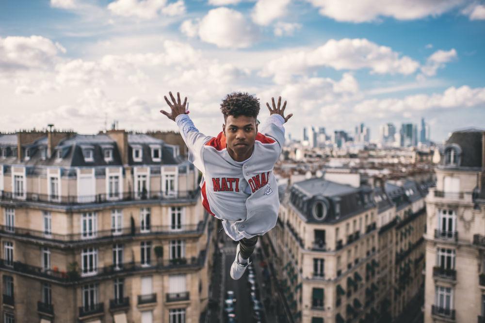 Tancerz Lment z Kuby w finale konkursu  World Bull Dance Your Style w Paryżu