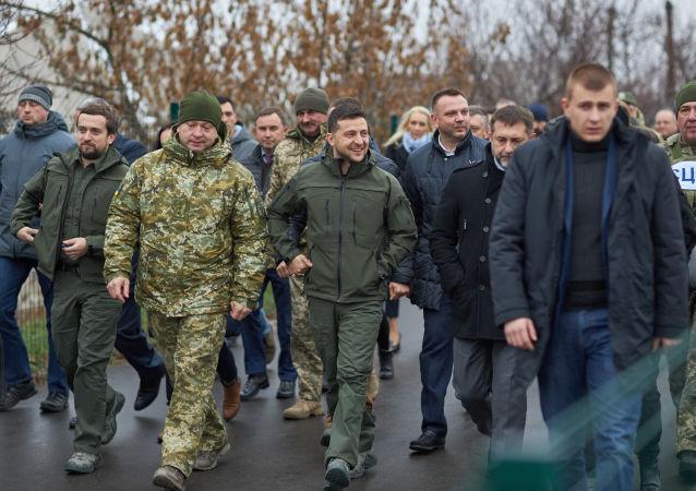 Wizyta robocza prezydenta Ukrainy od obwodu ługańskiego i mikołajowskiego