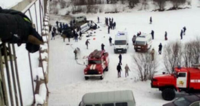 Autobus spadł do rzeki na Dalekim Wschodzie