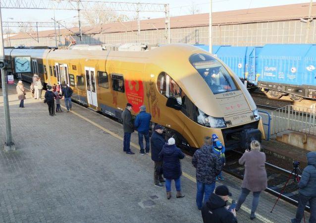 """Złoty pociąg """"Gdacjusz"""
