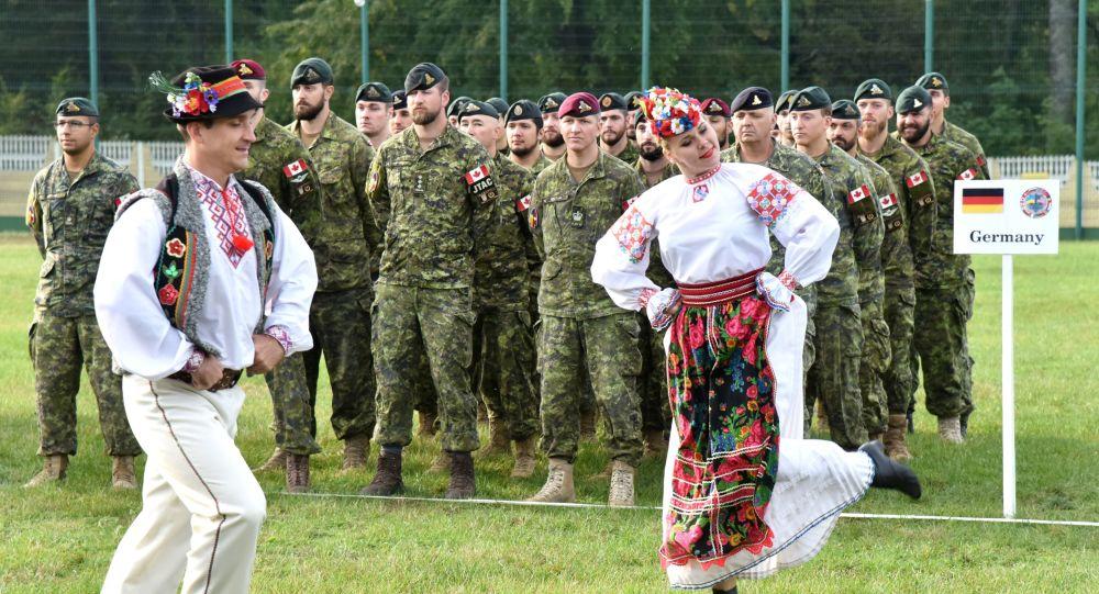 Manewry międzynarodowe Rapid Trident 2019 w obwodzie lwowskim