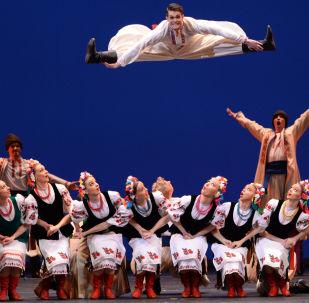 Ukraiński taniec ludowy hopak