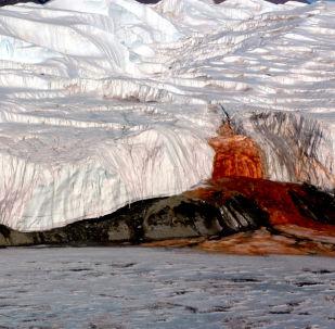 Krwawy wodospad, Antarktyda Wschodnia