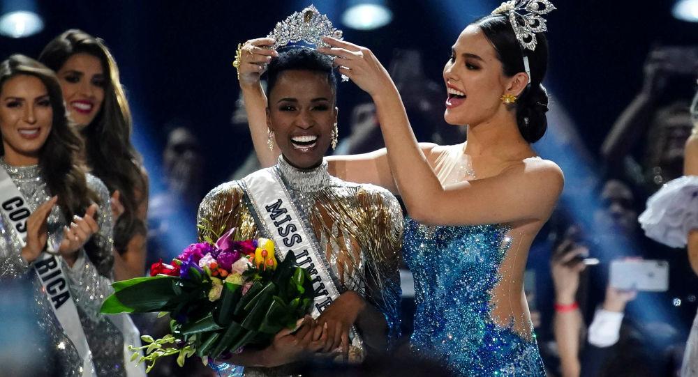 Miss Universe-2019 Zozibini Tunzu