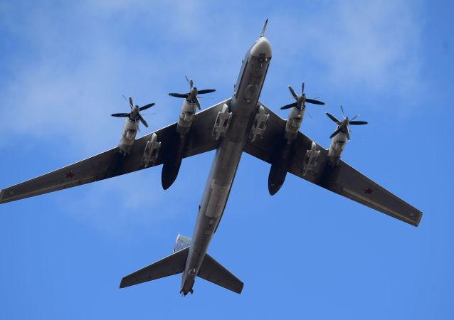 Bombowiec strategiczny Tu-95MS