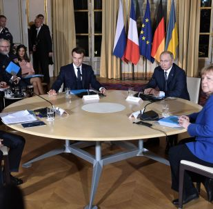"""Szczyt """"normandzkiej czwórki"""" w Paryżu"""