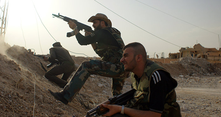 Walki wojsk syryjskich z ISIS