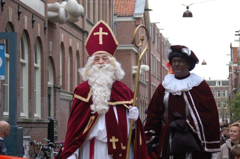 Sinterklaas w Belgii i Holandii