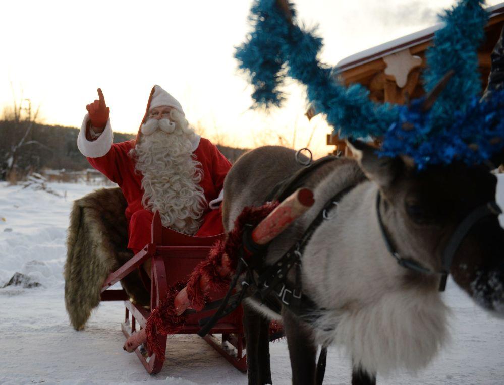 Joulupukki z Finlandii