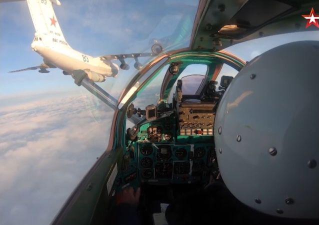 Tankowanie myśliwców 1