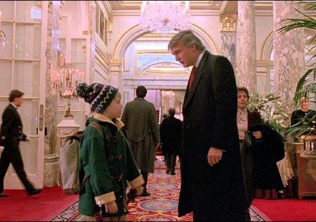Donald Trump w filmie Kevin sam w Nowym Jorku