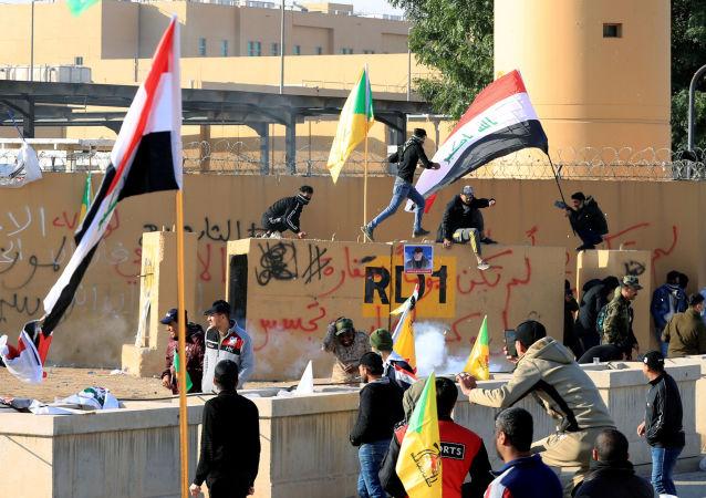Zamieszki w Bagdadzie