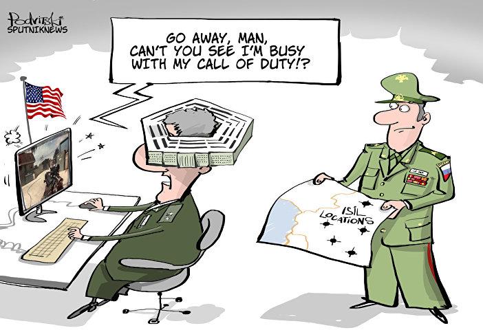 Nie widzisz, jestem zajęty! Gram w moją Call of Duty!